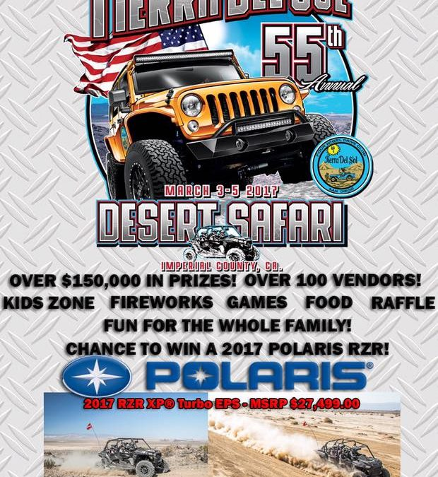 55th Annual Desert Safari Hosted by Tierra Del Sol